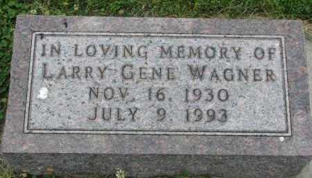 WAGNER, LARRY GENE - Yankton County, South Dakota   LARRY GENE WAGNER - South Dakota Gravestone Photos