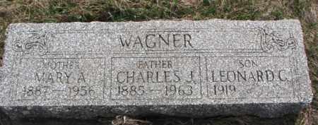WAGNER, LEONARD C. - Yankton County, South Dakota | LEONARD C. WAGNER - South Dakota Gravestone Photos