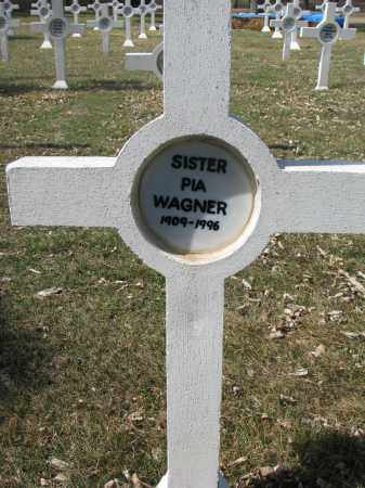 WAGNER, PIA - Yankton County, South Dakota | PIA WAGNER - South Dakota Gravestone Photos