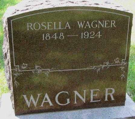 WAGNER, ROSELLA - Yankton County, South Dakota   ROSELLA WAGNER - South Dakota Gravestone Photos