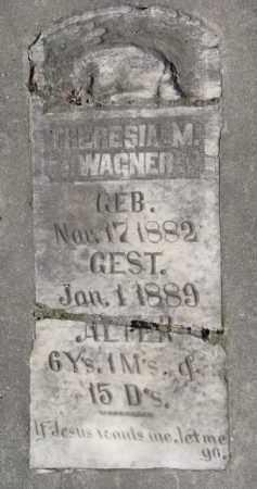 WAGNER, THERESIA M. - Yankton County, South Dakota | THERESIA M. WAGNER - South Dakota Gravestone Photos