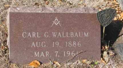 WALLBAUM, CARL G. - Yankton County, South Dakota | CARL G. WALLBAUM - South Dakota Gravestone Photos