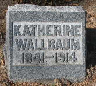 WALLBAUM, KATHERINE - Yankton County, South Dakota | KATHERINE WALLBAUM - South Dakota Gravestone Photos