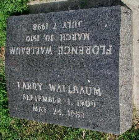 WALLBAUM, LARRY - Yankton County, South Dakota | LARRY WALLBAUM - South Dakota Gravestone Photos