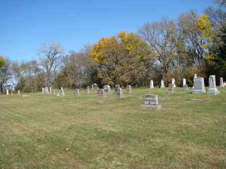 *ZION EVANGELICAL-WALSHTOWN, OVERVIEW - Yankton County, South Dakota | OVERVIEW *ZION EVANGELICAL-WALSHTOWN - South Dakota Gravestone Photos