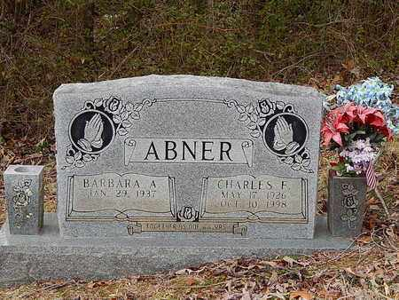 ABNER, CHARLES F - Anderson County, Tennessee | CHARLES F ABNER - Tennessee Gravestone Photos