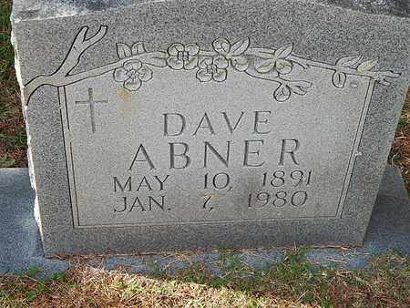 ABNER, DAVE - Anderson County, Tennessee   DAVE ABNER - Tennessee Gravestone Photos