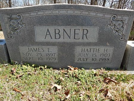 ABNER, JAMES E - Anderson County, Tennessee | JAMES E ABNER - Tennessee Gravestone Photos