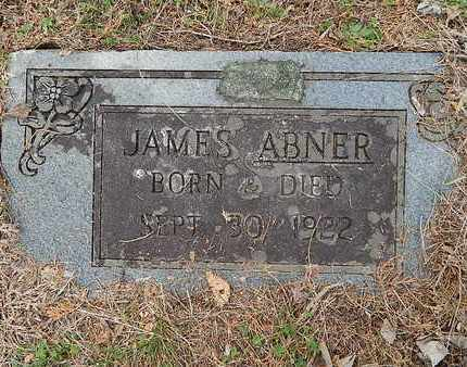 ABNER, JAMES - Anderson County, Tennessee | JAMES ABNER - Tennessee Gravestone Photos