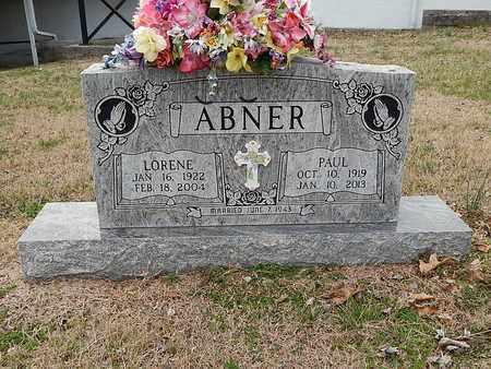 ABNER, LORENE - Anderson County, Tennessee | LORENE ABNER - Tennessee Gravestone Photos