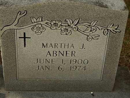 ABNER, MARTHA J - Anderson County, Tennessee | MARTHA J ABNER - Tennessee Gravestone Photos