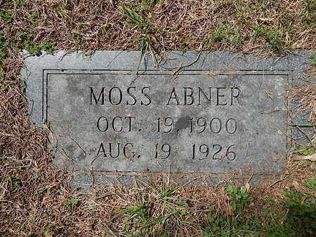 ABNER, MOSS - Anderson County, Tennessee   MOSS ABNER - Tennessee Gravestone Photos