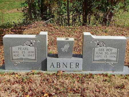 ABNER, LEE ROY - Anderson County, Tennessee | LEE ROY ABNER - Tennessee Gravestone Photos