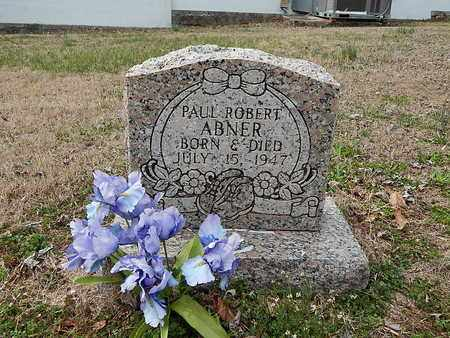 ABNER, PAUL ROBERT - Anderson County, Tennessee | PAUL ROBERT ABNER - Tennessee Gravestone Photos