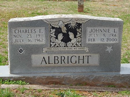 ALBRIGHT, JOHNNIE L - Anderson County, Tennessee | JOHNNIE L ALBRIGHT - Tennessee Gravestone Photos