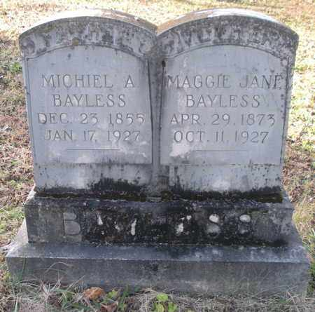 WEIL BAYLESS, MAGGIE JANE - Anderson County, Tennessee | MAGGIE JANE WEIL BAYLESS - Tennessee Gravestone Photos