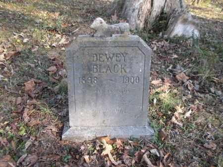 BLACK, DEWEY - Anderson County, Tennessee | DEWEY BLACK - Tennessee Gravestone Photos