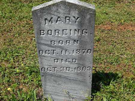 BOREING, MARY - Anderson County, Tennessee   MARY BOREING - Tennessee Gravestone Photos