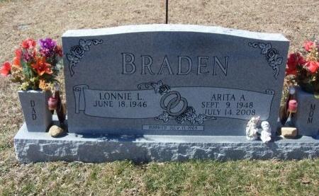 BRADEN, ARITA A. - Anderson County, Tennessee | ARITA A. BRADEN - Tennessee Gravestone Photos