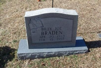 BRADEN, BILLY JOE - Anderson County, Tennessee   BILLY JOE BRADEN - Tennessee Gravestone Photos