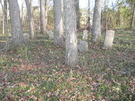 *BRADEN CEMETERY OVERVIEW, . - Anderson County, Tennessee | . *BRADEN CEMETERY OVERVIEW - Tennessee Gravestone Photos