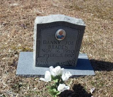 BRADEN, DANNY JOE - Anderson County, Tennessee   DANNY JOE BRADEN - Tennessee Gravestone Photos
