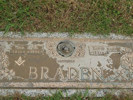 BRADEN, EUEL LYNN - Anderson County, Tennessee | EUEL LYNN BRADEN - Tennessee Gravestone Photos