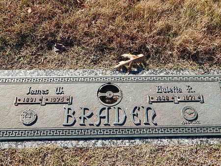 BRADEN, HUETTA R - Anderson County, Tennessee | HUETTA R BRADEN - Tennessee Gravestone Photos