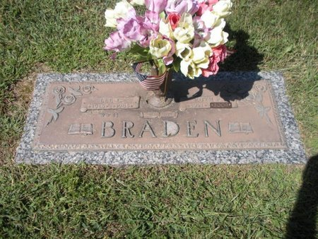BRADEN, LEE C - Anderson County, Tennessee | LEE C BRADEN - Tennessee Gravestone Photos