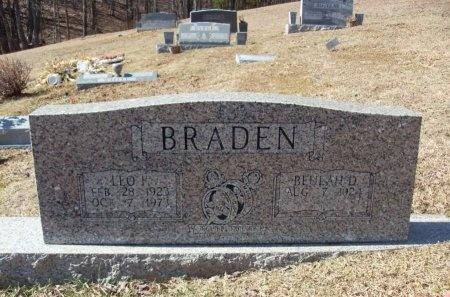 BRADEN, BEULAH - Anderson County, Tennessee | BEULAH BRADEN - Tennessee Gravestone Photos