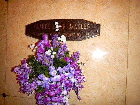 BRADLEY, CLAUDE ADRIAN - Anderson County, Tennessee | CLAUDE ADRIAN BRADLEY - Tennessee Gravestone Photos