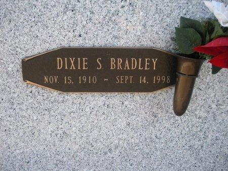 BRADLEY, DIXIE - Anderson County, Tennessee   DIXIE BRADLEY - Tennessee Gravestone Photos