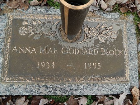 BROCK, ANNA MAE - Anderson County, Tennessee | ANNA MAE BROCK - Tennessee Gravestone Photos