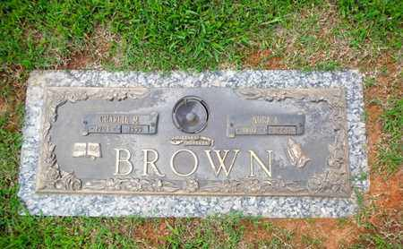 BROWN, CHARLIE M - Anderson County, Tennessee | CHARLIE M BROWN - Tennessee Gravestone Photos