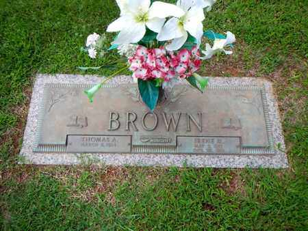 BROWN, IRENE M - Anderson County, Tennessee | IRENE M BROWN - Tennessee Gravestone Photos