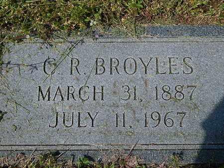 BROYLES, C R - Anderson County, Tennessee | C R BROYLES - Tennessee Gravestone Photos