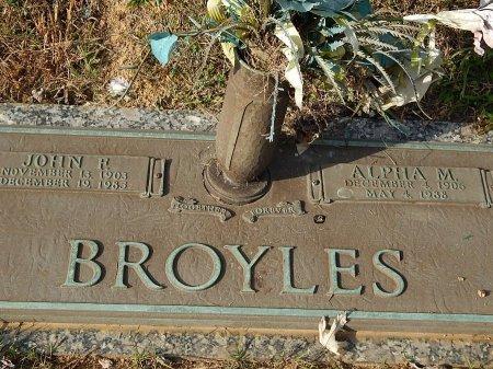 BROYLES, JOHN R - Anderson County, Tennessee | JOHN R BROYLES - Tennessee Gravestone Photos