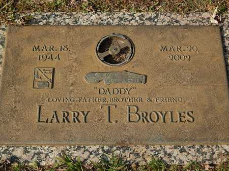 BROYLES, LARRY T - Anderson County, Tennessee | LARRY T BROYLES - Tennessee Gravestone Photos