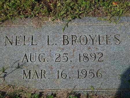 BROYLES, NELL L - Anderson County, Tennessee | NELL L BROYLES - Tennessee Gravestone Photos