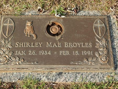 BROYLES, SHIRLEY MAE - Anderson County, Tennessee | SHIRLEY MAE BROYLES - Tennessee Gravestone Photos