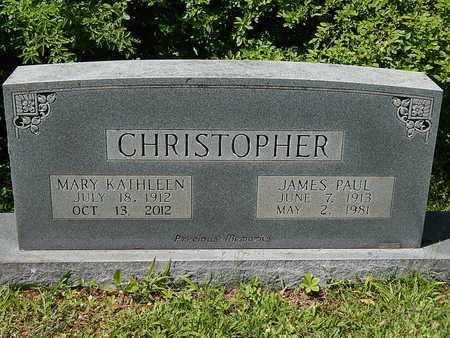 CHRISTOPHER, MARY KATHLEEN - Anderson County, Tennessee | MARY KATHLEEN CHRISTOPHER - Tennessee Gravestone Photos