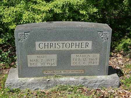 CHRISTOPHER, MARY - Anderson County, Tennessee | MARY CHRISTOPHER - Tennessee Gravestone Photos
