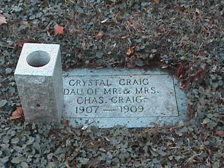CRAIG, CRYSTAL - Anderson County, Tennessee | CRYSTAL CRAIG - Tennessee Gravestone Photos