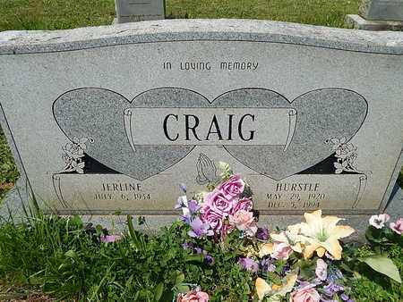 CRAIG, HURSTLE - Anderson County, Tennessee | HURSTLE CRAIG - Tennessee Gravestone Photos