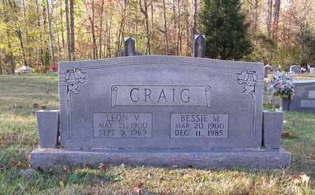 CRAIG, BESSIE - Anderson County, Tennessee | BESSIE CRAIG - Tennessee Gravestone Photos