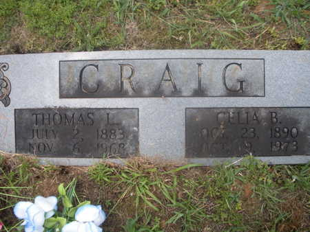 CRAIG, CELIA B - Anderson County, Tennessee | CELIA B CRAIG - Tennessee Gravestone Photos