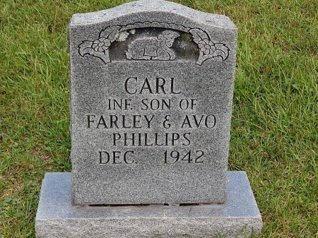 PHILLIPS, CARL - Anderson County, Tennessee | CARL PHILLIPS - Tennessee Gravestone Photos