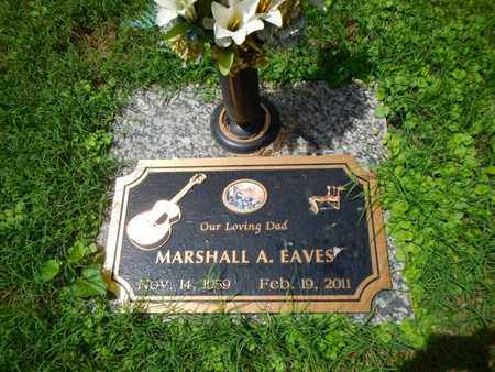 EAVES, MARSHALL A - Anderson County, Tennessee   MARSHALL A EAVES - Tennessee Gravestone Photos