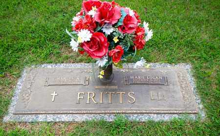 LOGAN FRITTS, MARIE - Anderson County, Tennessee | MARIE LOGAN FRITTS - Tennessee Gravestone Photos