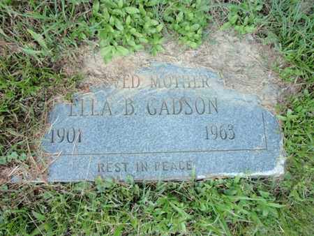 GADSON, ELLA B - Anderson County, Tennessee | ELLA B GADSON - Tennessee Gravestone Photos